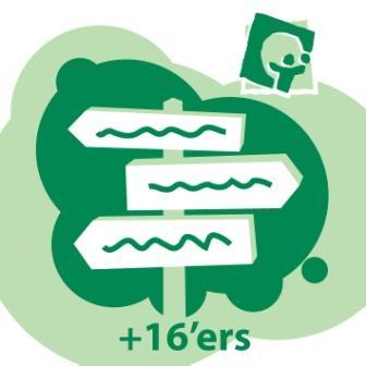 Mouwschildje: de groene wegwijzer